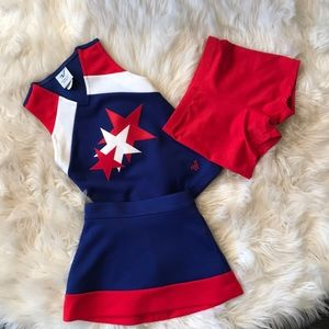 Varsity cheer outfit